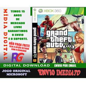 Gta V Mídia Digital Perfil Com P. Xbox 360 Roraima Games