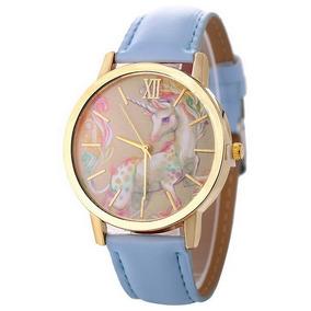 a67b444ffd5 Relógios Das Mulheres Crianças Cavalo Desenho Animado Cria