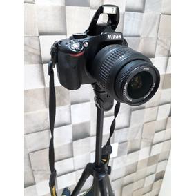 Câmera Nikon D5100 + Tripé