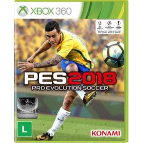 Jogo Pes 2018 Xbox 360 Mídia Física Original, Novo.