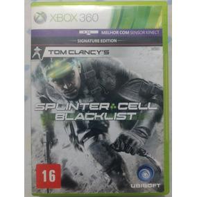 Splinter Cell Blacklist X-box 360 Original