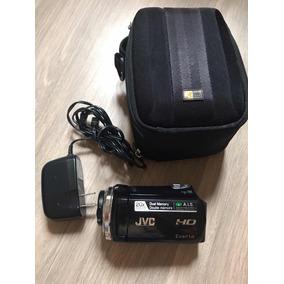 Câmera Jvc Everio Hd 20x Optical Zoom Dual Memory Nova