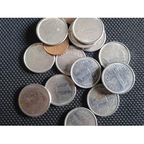 21 Moedas De 1 Centavo De Real Antigas Por R$40 Níquel Cobr