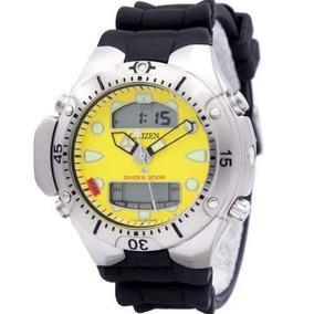 3c04433d7de Relógio Citizen Jp1060-01x Jp1060 Aqualand Ii Amarelo