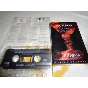 Michel Jackson Cassette Scream Cassette Childhood