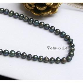 c9cabf2f17a7 Collar De Perlas Negras Naturales - Joyas y Relojes en Quintana Roo ...