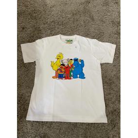 Playera T-shirt Original Kaws X Sesame Street