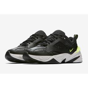 online store f319c 37fb6 Zapatillas Nike M2k Tekno Black Volt Negro Nuevo 2018