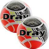 7f89ae1e83 Kit C 2 Bolas Dray Termofusion Futebol De Campo Profissional
