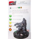 Heroclix Marvel Amazing Spider-man Rhino 020 Con Tarjeta De
