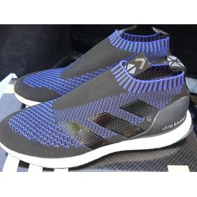 size 40 06940 0ac43 adidas Ace 16 Puré Control Ultra Boost Black Blue