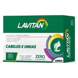 Lavitan Hair Cabelos E Unhas Com 30 Comp