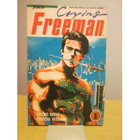 Lote 4 Revistas: Crying Freeman - Koike, Ikegami - Sampa