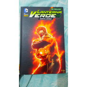 Lanterna Verde - Agente Laranja Dc Deluxe (panini)
