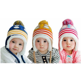 Touca Criança Bebe Algodão Fofa Forrada Rosa Azul Amarela b955b49d5aa