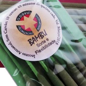 Incenso Natural De Bambu - Sorte E Flexibilidade