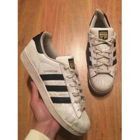 Padrisimos Tenis adidas Superstar Stripes Blanco Negro 24!!