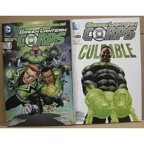 Green Lantern Corps Tomos 1 Y 2 Ecc Sudamerica Dc Comics