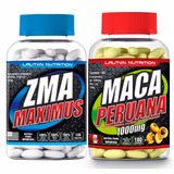 Kit Zma Maximus 120 Tabs + Maca Peruana 180 Tab - Lauton