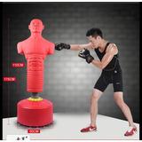 Muñeco De Silicona Con Base Para Boxeo Muay Thai Deportes