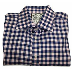Camisa De Cuadros Thomas Pink Original. Nextaporter