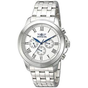 Reloj Invicta 21657 Acero Inoxidable Plateado Nuevo Original