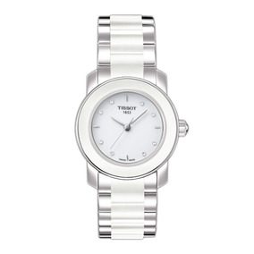 Reloj Tissot T-trend Cera White Ceramic Mujer T0642102201600