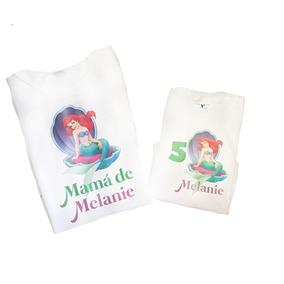 Playeras Mama E Hija Personalizadas Cumpleaños Envio Gratis