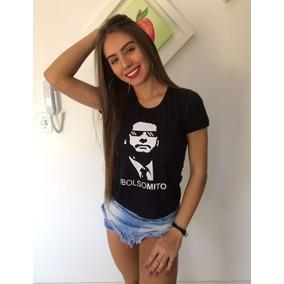 Camisa Bolsonaro Presidente Mito - Feminina Cód1 30c7294af62