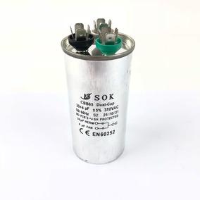 Capacitor Duplo 30uf + 4uf 380 Vac