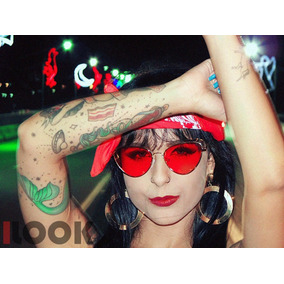Óculos Sol Nero Le Specs Transparente Ou Espelhado + Brinde 9653b2fb94