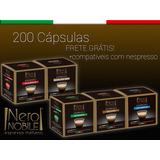 200 Cápsulas Café Nero Nobile - Sistema Nespresso