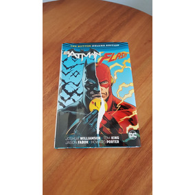 Batman/ The Flash: The Button Deluxe Hardcover Edition