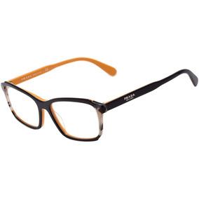 a862e81432645 Armação Oculos Grau Masculino Ea33 Acetato Redondo Promoção. 6 vendidos -  São Paulo · Prada Pr 01vv - Óculos De Grau 30z 1o1 Azul E Amarelo Brilho