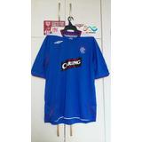 Camisa Oficial Rangers 2008 Umbro/ Escócia.