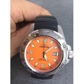 3796a87543c Relogio Timex Chronograph Indiglo Masculino - Relógios De Pulso no ...