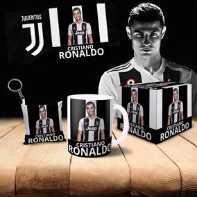 Caneca Juventus Cristiano Ronaldo Cr7+almochaveiro+caixinha1