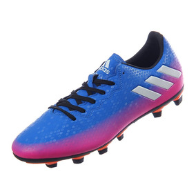 Naranja  p adidas Messi 16.4 Fxg Azul Rosa - Tacos y Tenis de Fútbol ... a554ca6678146
