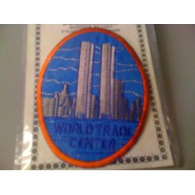 World Trade Center Patch Bordado (9,0 Cm X 7,0 Cm) Importado