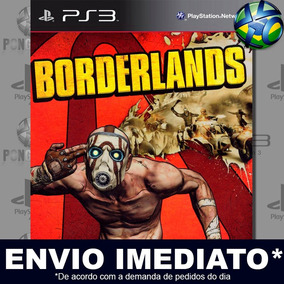 Borderlands Ps3 Código Psn Mídia Digital Promoção