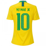 Camisa Seleção Brasileira 10 Neymar no Mercado Livre Brasil 0297a8728cb61