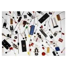 Lote Peças Diverssas Potenciometros Cis Transistor E Capacit