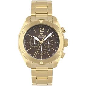 6fe55a4873950 Relogio Technos Skymaster Dourado Masculino - Relógios De Pulso no ...