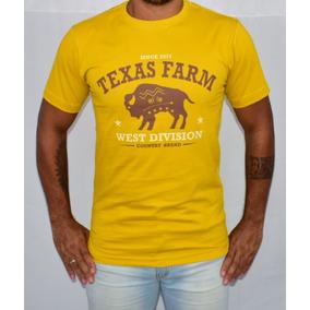 Camisa Country Texas Farm Búfalo