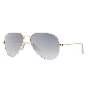 aec091514f78c Óculos Sol Ray-ban Aviator Full Color Rb3026 148 32 Branco. 41. São Paulo · Óculos  Ray Ban Aviador Full Color Unisex 3025 58