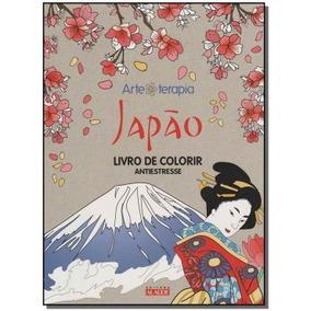 Japão - Livro De Colorir Antiestresse