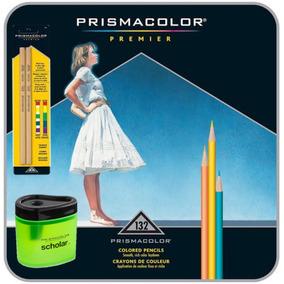 Lápis De Cor Prismacolor 132 Cores+ Apontador + Blender
