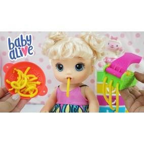 97a4e6322b Baby Alive Eu Adoro Macarrão Em Promoção - Bonecas e Acessórios no ...
