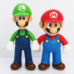 Bonecos Super Mario & Luigi Miniaturas 13 Cm Pronta Entrega!