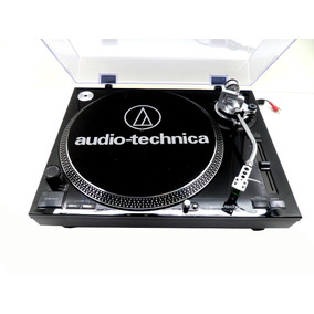 Toca Discos Audio Technica At-lp120bk Usb Profissional Preto